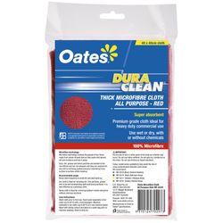 Microfibre Cloth DuraClean Thick RED (10)