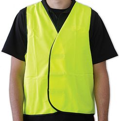 Safety Vest Day Time Yellow Large