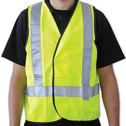 REFLECTIVE SAFETY VESTS - YELLOW
