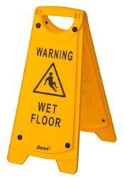 A-Frame Sign - Warning Wet Floor