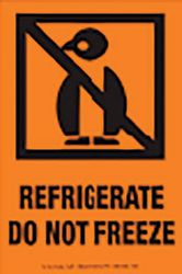 Labels REFRIGERATE - DO NOT FREEZE  500/RL