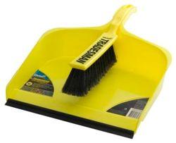 Dustpan & Brush Set Tradesman (extra large)