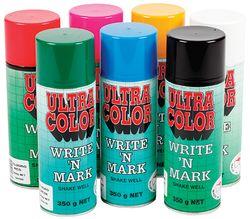 Write & Mark Paint Fluoro Orange 350gram
