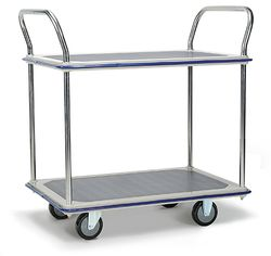 Platform Trolley 2 Tier 965x615mm (370kg)