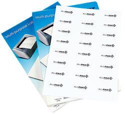 Laser Printer Labels 2 UP 148x210mm 100Sheets