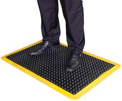 Air-Step Mat Yellow Edge 610x910mm