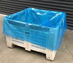 Pallet Liner Bags 1220+1220x1980mm 50um Blue 50/RL