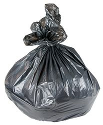 Bin Liner LDPE 140l Heavy Duty Black 920x1300mm 200/ct