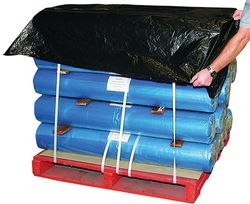 Pallet Top Sheets Black 840/1680x1680mm 250/RL