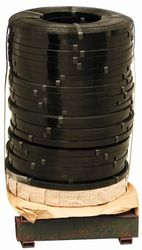 Steel Strapping Black Ribbon 12.7mmx0.50mm SKID