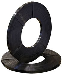 Steel Strapping Black Ribbon 12.7mm x 0.50 x 200m