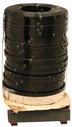 Steel Strapping Black Ribbon 15.9mmx0.50mm SKID