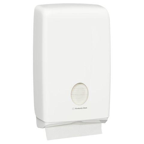 Aquarius White Compact Towel Dispenser for 4440