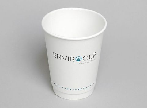 8oz Double Wall Hot Cup Compostable