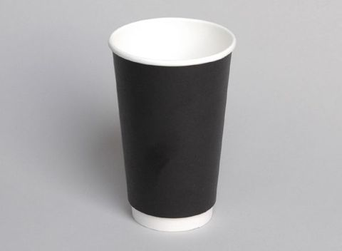 16oz Double Wall PE Hot Cup
