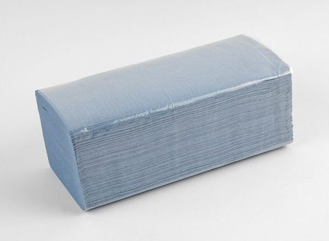 Coastal Interfold Paper Towels - Blue