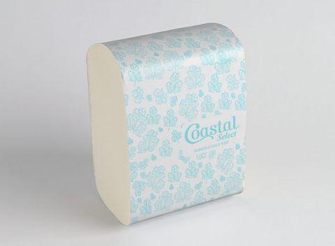 Coastal Slimfold Half Wipe Paper Towel