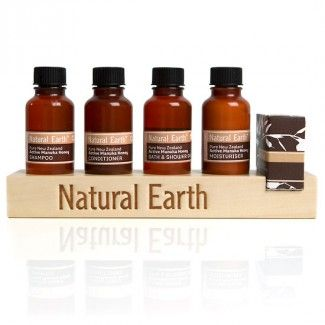 DISPLAY 13 Wooden Natural Earth Bottle Display Stand