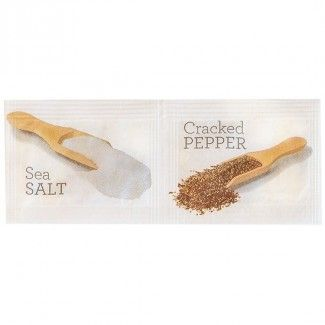 HPS&P HealthPak Dual Salt/Pepper Sachets