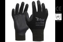 Esko Black Hawk Glove - Black Polyamide with Black Foam Nitrile Coating