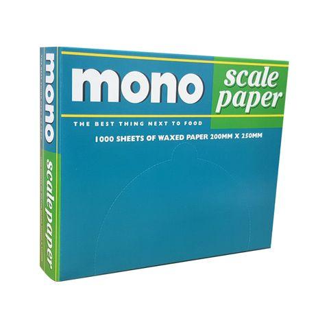Mono Scale Paper Sheets - 250x200mm