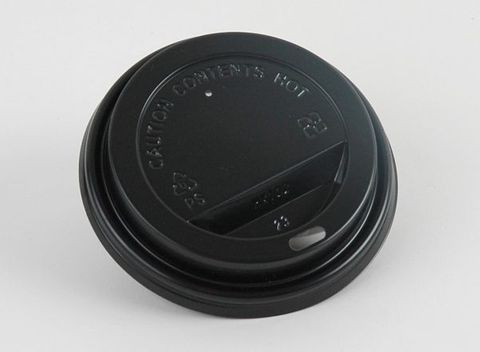 8oz Hot Cup Lids Black or White