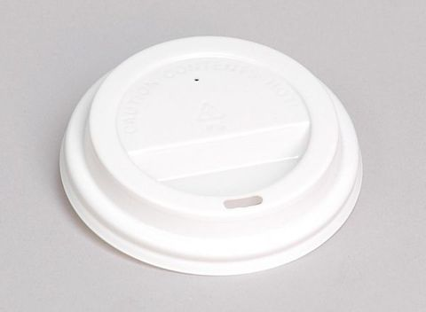 12/16oz Hot Cup Lids White - (Also Fit Uni-Cup)