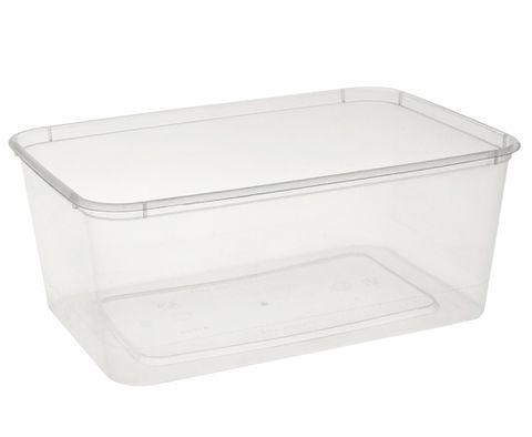 Uni-Chef 1000mL Copolymer Freezer Grade Rectangle Container