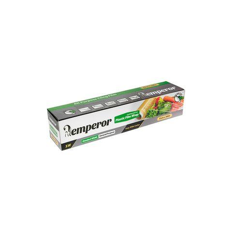 Emperor PVC Food Wrap 330mm x 300 Metre