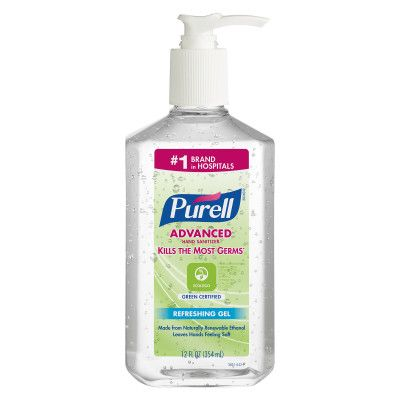 3691 GoJo Purell Instant Hand Sanitiser Pump Bottle