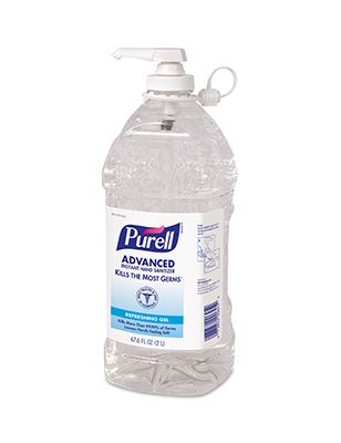 9625 GoJo Purell Instant Hand Sanitiser Pump Bottle