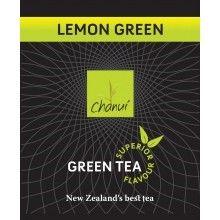 Chanui Lemon Green Enveloped Tea Bags