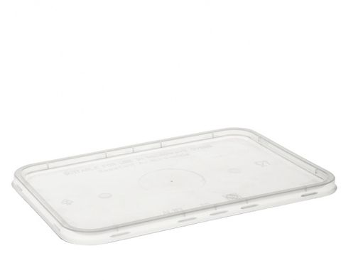 Uni-Chef Copolymer Freezer Grade Rectangle Lids to suit 500mL-1000mL Containers