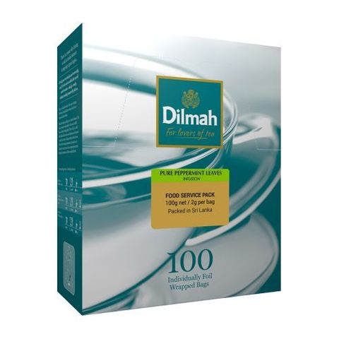 Dilmah Envelope Wrapped Teabags - Peppermint