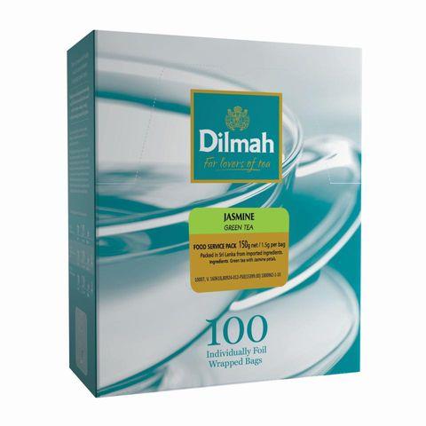 Dilmah Envelope Wrapped Teabags - Jasmine Green