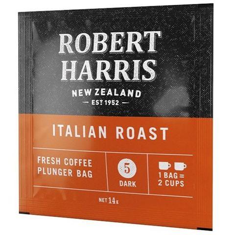 "RH Italian Roast ""Start Me Up"" Plunger Coffee Bags"