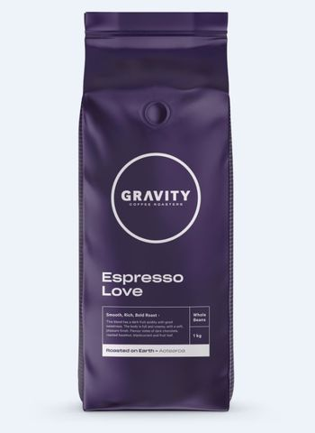 Gravity Espresso Love Coffee Beans