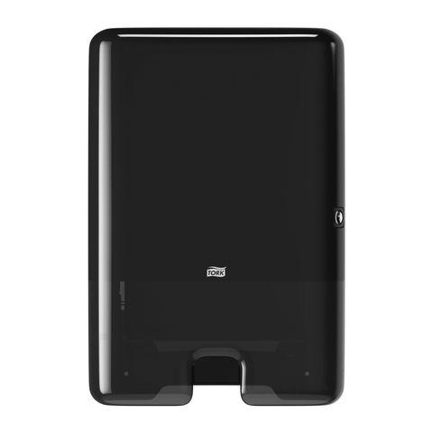 552008 Tork Interfold H2 Hand Towel Dispenser - Black