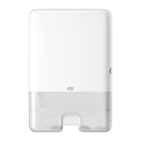 552000 Tork Interfold H2 Hand Towel Dispenser - White