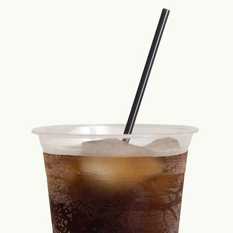 Bioplastic Cocktail Black 3mm Straw - 145mm long - Ctn 5000