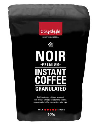 Baystyle Noir Granulated Instant Coffee - 500g
