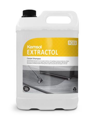 Extractol Carpet Shampoo - 5L