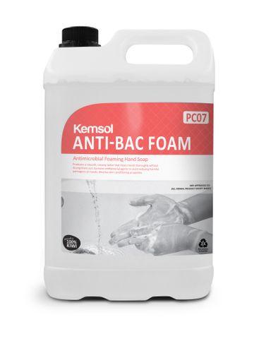 Anti-Bac Foam Antimicrobial Foaming Hand Soap