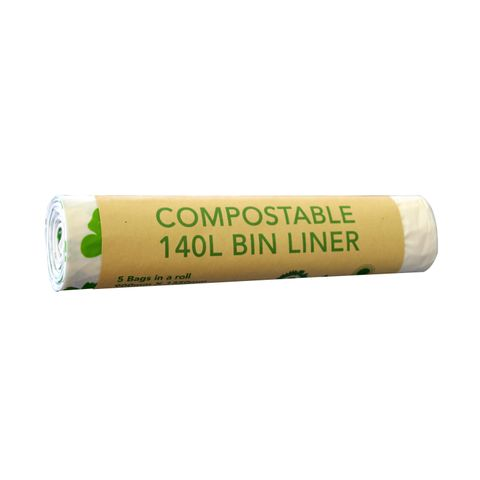Compostable Wheelie Bin Liners 140L