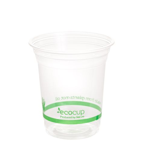 EcoCup 420mL Clear PLA Cold Cup - Ctn 1000