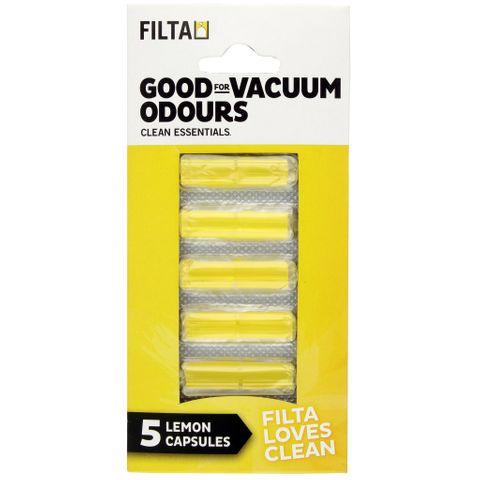 90800 Vacuum Cleaner Air Freshener Lemon