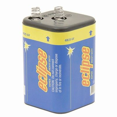 Eclipse Alkaline 6V Batteries