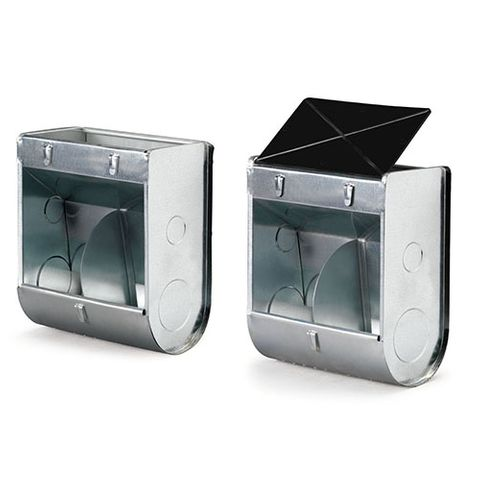 Feeder with Lid - External Cage Hanging