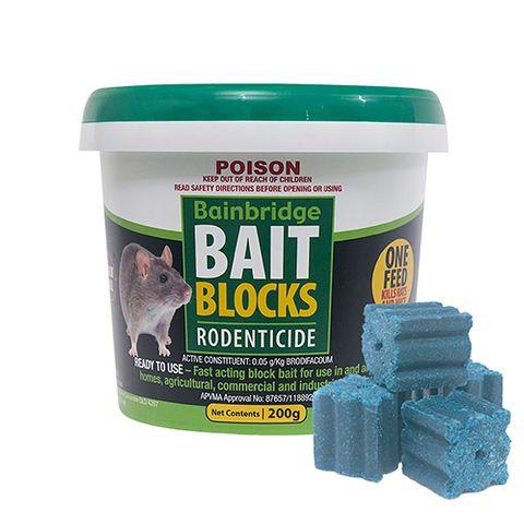 Rodent Bait Blocks