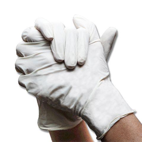 Latex Milking Gloves